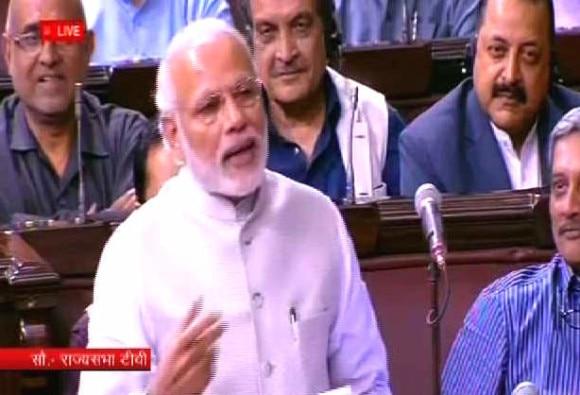 Watch and Read : PM Modi Sher o Shayari in Rajya Sabha