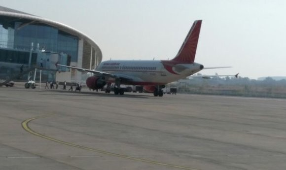 Air India flight makes emergency landing in Bhopal after bird hits one of its engines