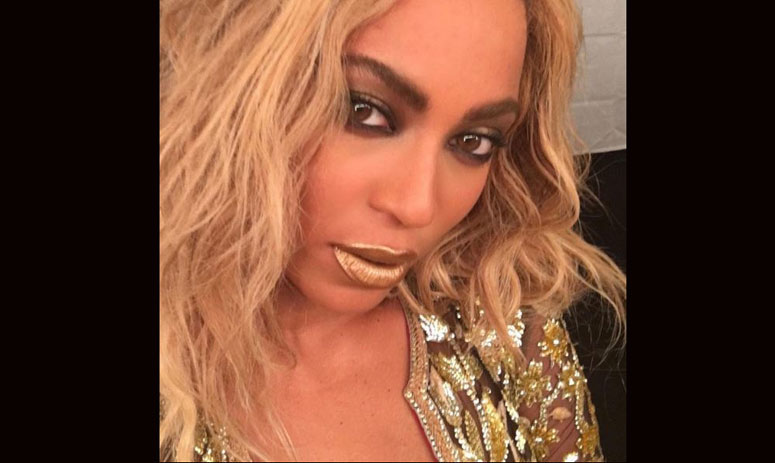 beyonce shares pictures of coldplay's controversial song on india