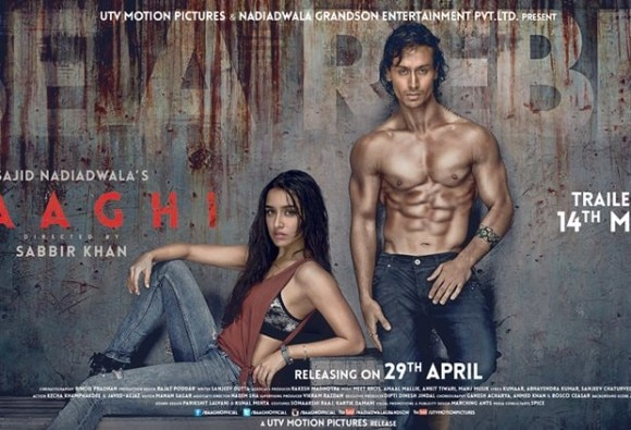 Baaghi first poster: Tiger Shroff, Shraddha Kapoor are rebels