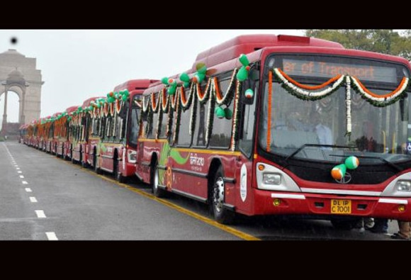 delhi: app based bus service is to be launched soon