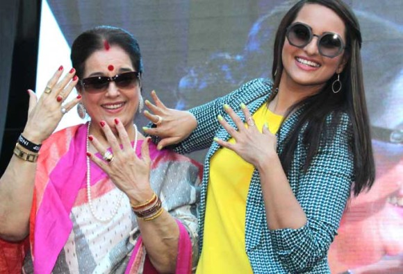 Sonakshi Sinha says, My mom gets worried about controversies