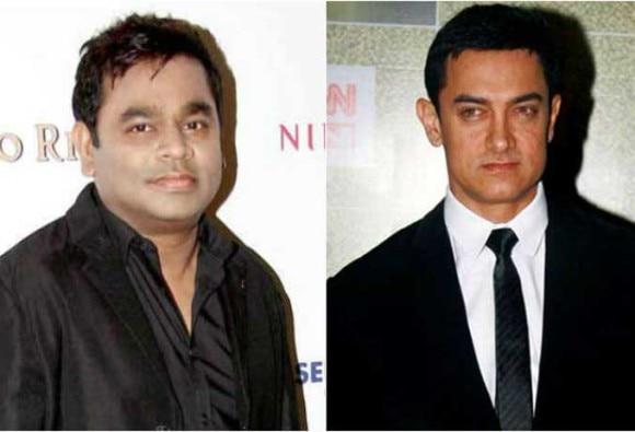AR Rahman unveils movie's poster, Aamir Khan praises