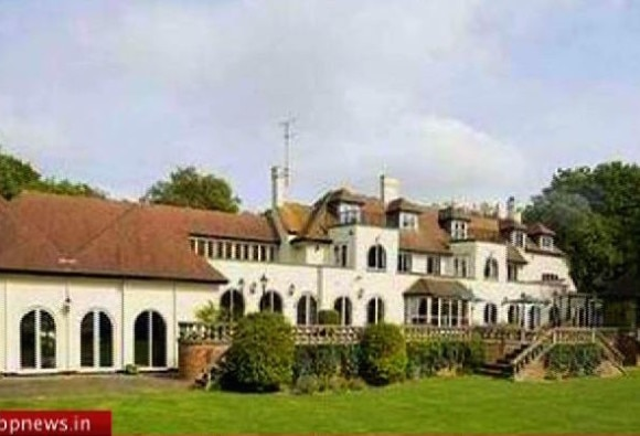 Vijay Mallya tracked to his sprawling country house in north of London