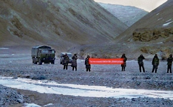 Transgression by Chinese troops in Ladakh again