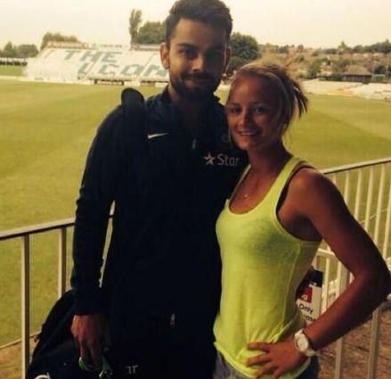 Danielle Wyatt smitten by Virat Kohli and India