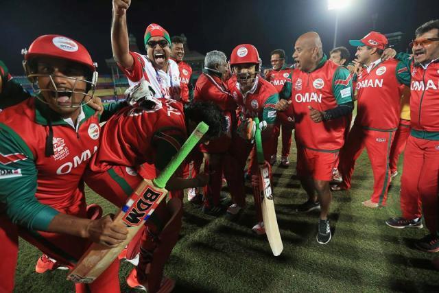 Oman's Zeeshan Maqsood takes 'unbelievable catch'