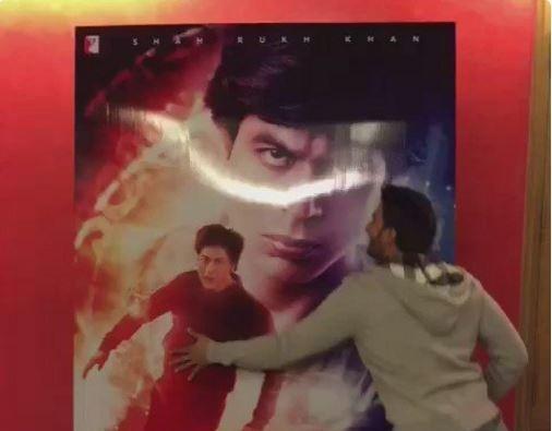 Ranveer Singh's 'jabra Fan' tribute to Shah Rukh