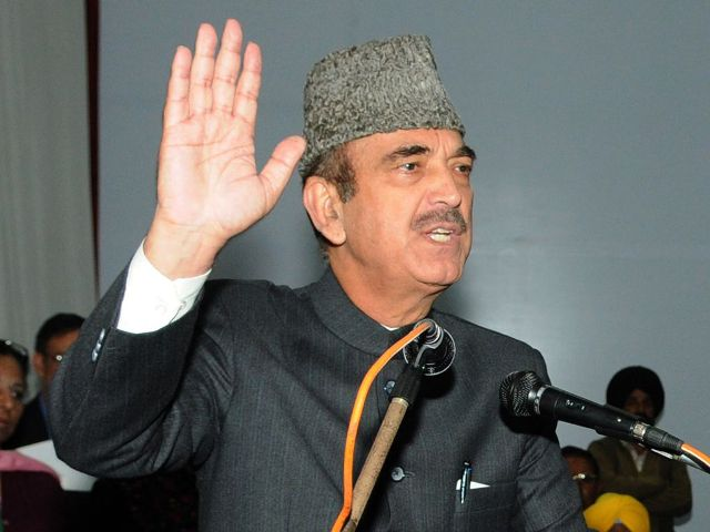 Ghulam Nabi Azad compares RSS to ISIS