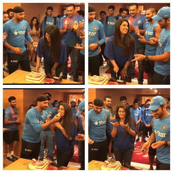 Birthday celebration of Geeta Basra