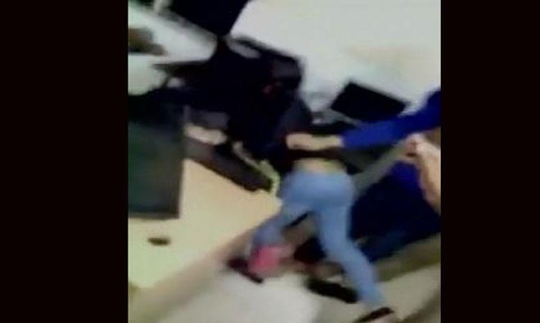 girl creates ruckus in police station in telangna
