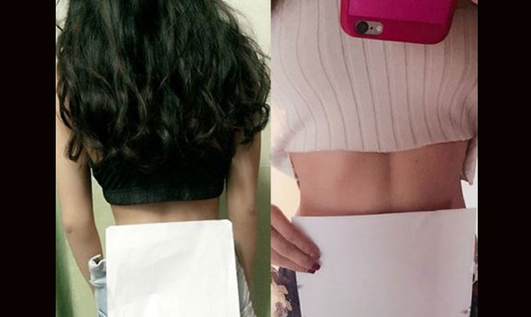 TRENDING: girls in china are measuring their waist by a4 paper