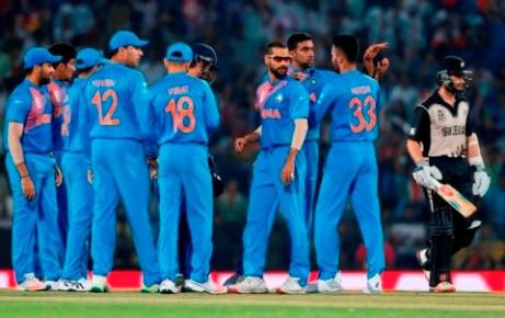 WCT20: India vs New Zealand