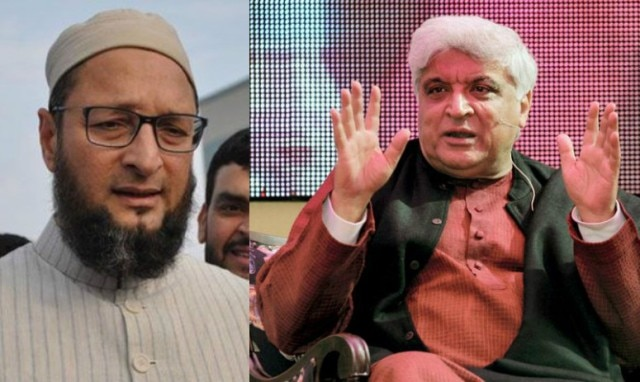 Javed Akhtar's hard-hitting reply to Asaduddin Owaisi on `Bharat Mata ki Jai' remark