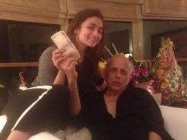 आलिया की उपलब्धि से महेश भट्ट खुश