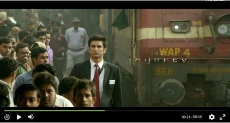 M.S. Dhoni TEASER: Sushant impresses as a Railway TC in the first teaser
