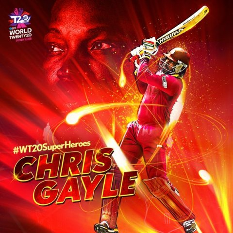 Chris Gayle's record breaking century