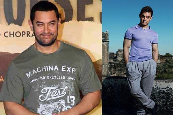 Aamir khan ghajini look