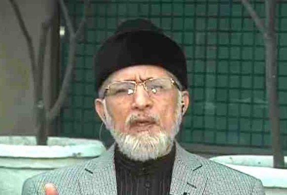TAHIR UL QADRI REACTS ON BHARAT MATA KI JAI CONTROVERSY