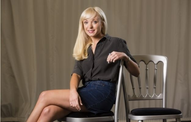 I look like a mouse: Helen George