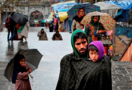 Baramulla: Rains lash Baramulla of Jammu and Kashmir