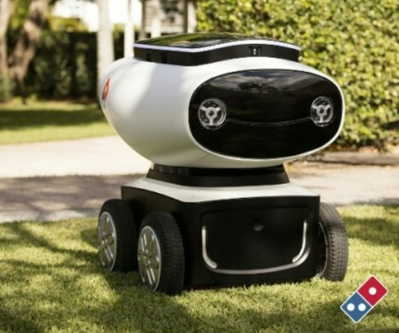 Domino's to Trial Robots for Pizza Delivery