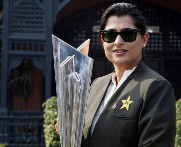 Pakistan women's cricket team captain Sana Mir