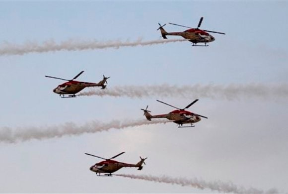 Indian Air Force shows its 'Iron Fist' in Pokhran