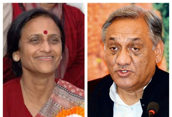 rita bahuguna to persuade rebel brother vijay bahuguna leader