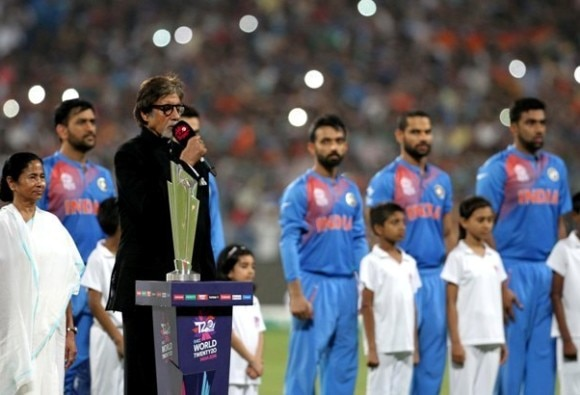 Complaint against Amitabh Bachchan for singing incorrect national anthem