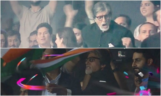 ICC World T20 2016: Amitabh Bachchan in India vs Pakistan Match