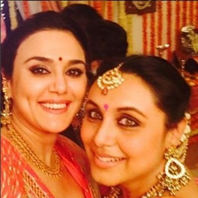 Preity Zinta flaunts her wedding choora on Instagram, see pic here