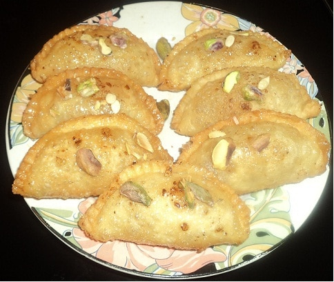 Gujiya Recipe – Holi Festival Special Dishes