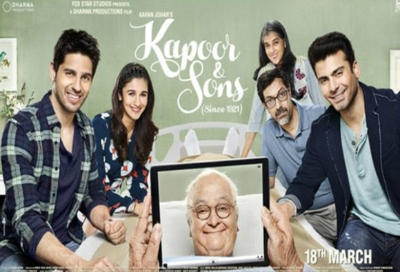 BOX OFFICE: opening weekend collection of Kapoor and Sons