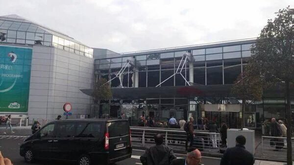 Deadly explosions rock Brussels Airport