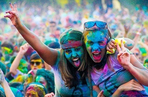 Protect hair, skin from harsh colours on Holi