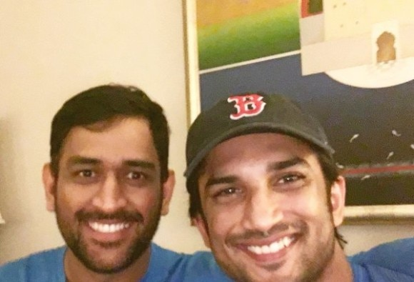 ms dhoni one of the best sports minds ever says Sushant singh rajpoot