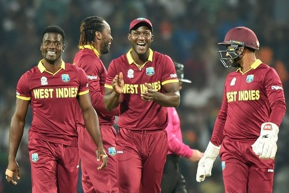 WT20: WI beat South Africa by 3 wkts, enter semi-final
