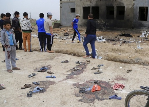 26 people killed in suicide bombing at soccer match in Iraq