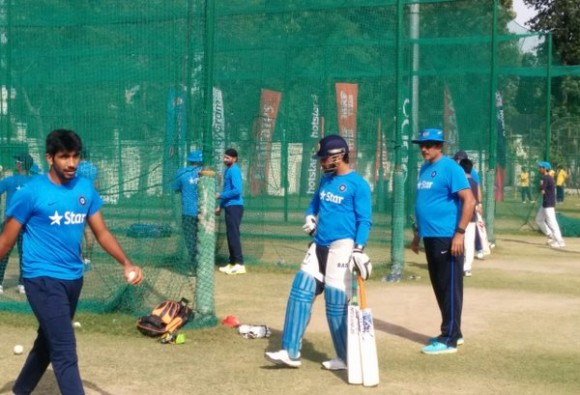 team india practice before big battle
