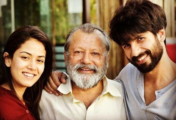 pankaj kapoor opens up on mira rajputs acting debut