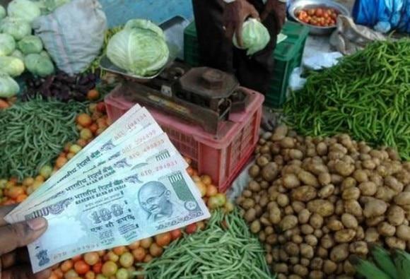 खुदरा महंगाई दर 6%, खाद्य पदार्थों की महंगाई दर सवा 8 फीसदी के पार