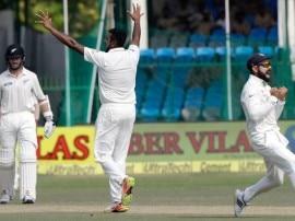 अश्विन ने कुछ इस तरह बनाया 200वें टेस्ट विकेट का रिकॉर्ड