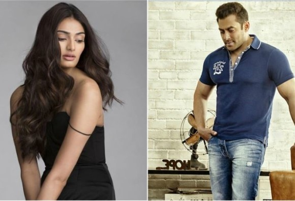 Two years of Hero : athiya shetty thanks salman khan