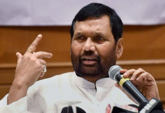 President Election: Parties against Ram Nath Kovind will be seen as Ani-Dalits says Ram Vilas Paswan