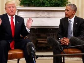 डोनाल्ड ट्रंप ने ओबामा की क्लाइमेट चेंज पॉलिसी को रद्द करने के लिए शासकीय आदेश पर हस्ताक्षर किए
