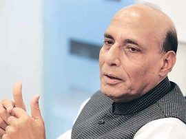 राजनाथ सिंह बताएं कि क्या है कश्मीर के स्थाई समाधान का मतलब: कांग्रेस