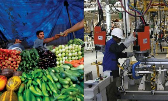 Industrial Production increased in August, September retail Infaltion at flat note