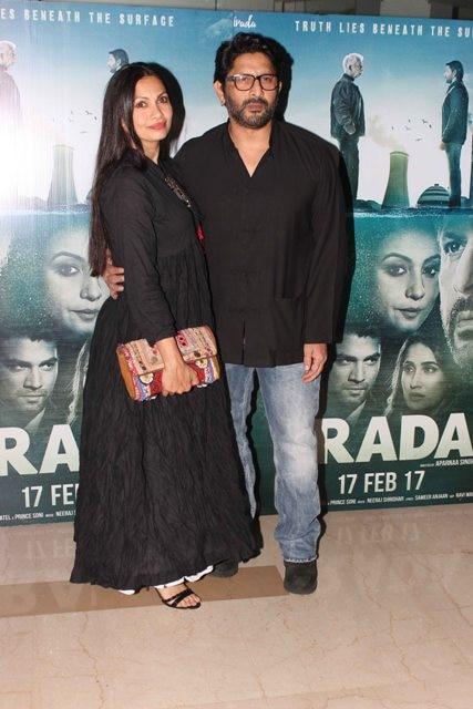Arshad Warsi and wife Maria Goretti