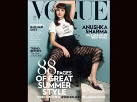वोग मैग्ज़ीन के कवर पर छाईं अनुष्का शर्मा